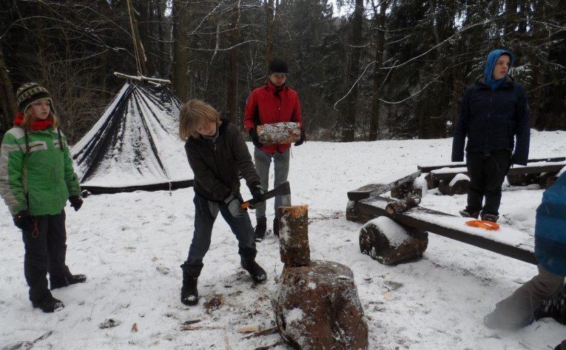 Winterlager Fichtelgebirge